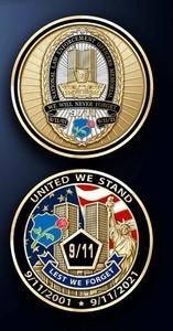 Coin Memorial 9/11 20th Anniversary